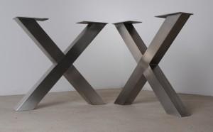 maintisch edelstahl massgestell massivholztisch masstisch maintisch. Black Bedroom Furniture Sets. Home Design Ideas