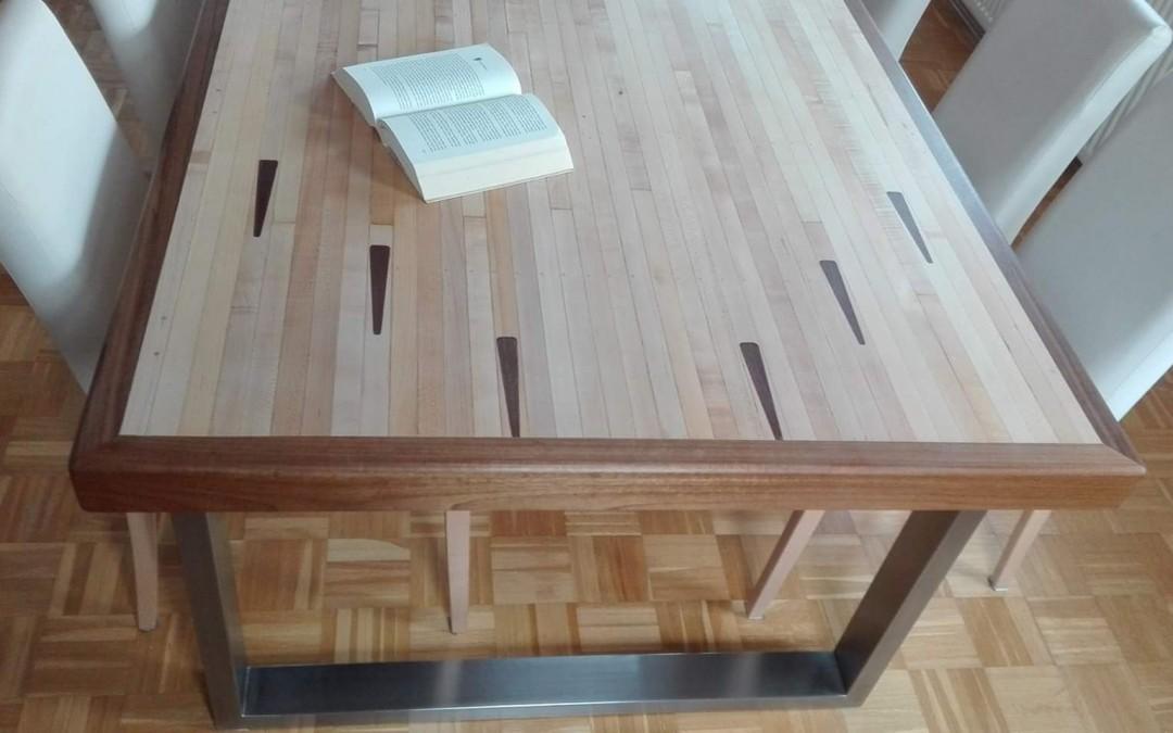 mainTisch Esstisch Schreibtisch Bowlingtisch Schreiner Masstisch 2