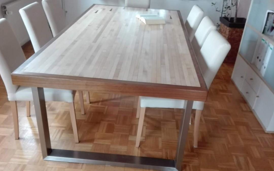 mainTisch Esstisch Schreibtisch Bowlingtisch Schreiner Masstisch 3