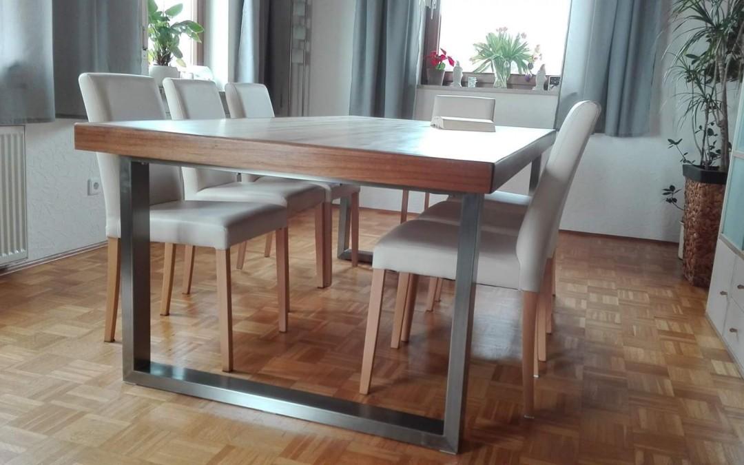 mainTisch Esstisch Schreibtisch Bowlingtisch Schreiner Masstisch 6