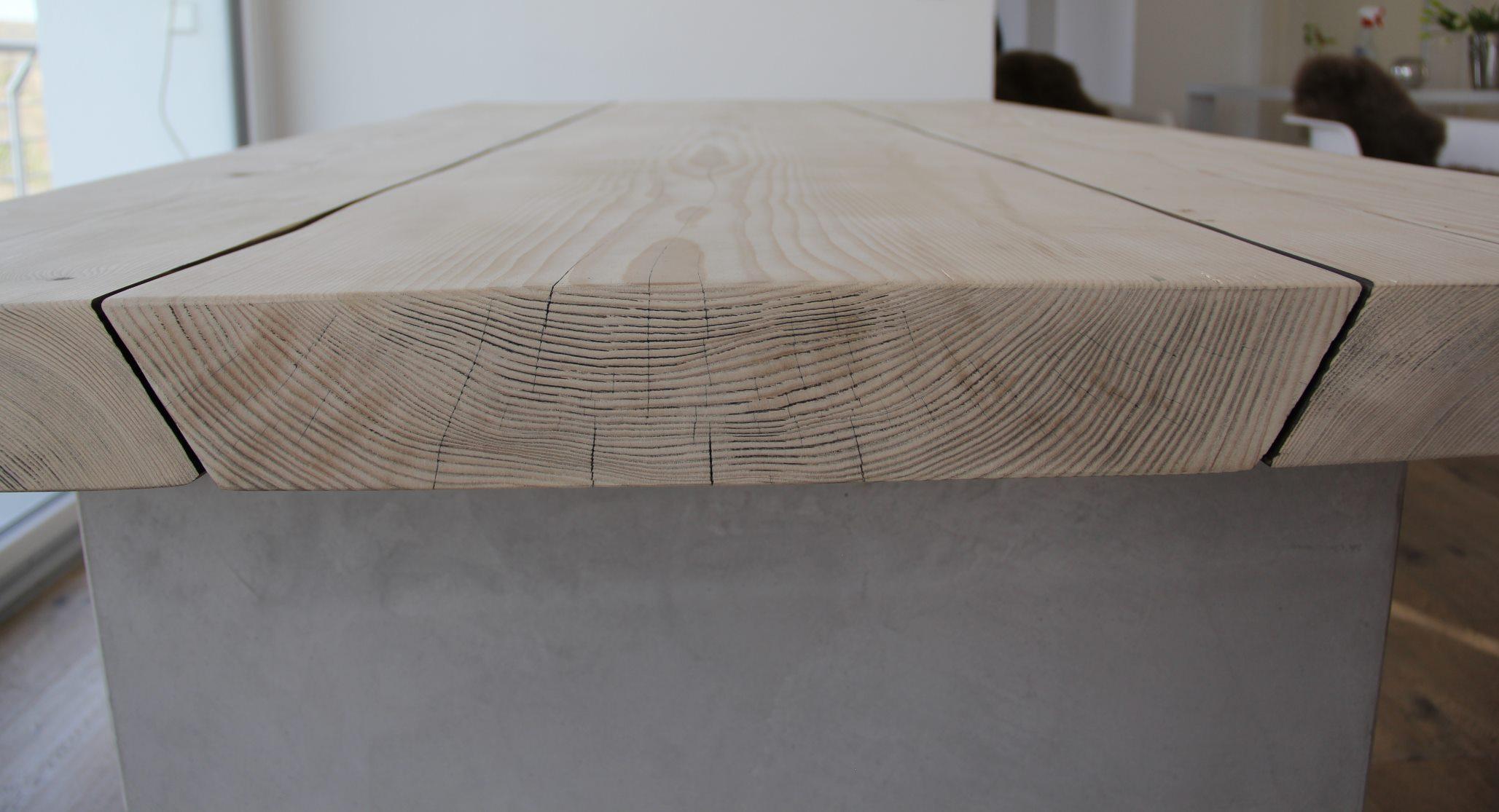 mainTisch-Beton-Tisch-Betontisch-massTisch-Schreibtisch-Esstisch-Kiefer Holz 5