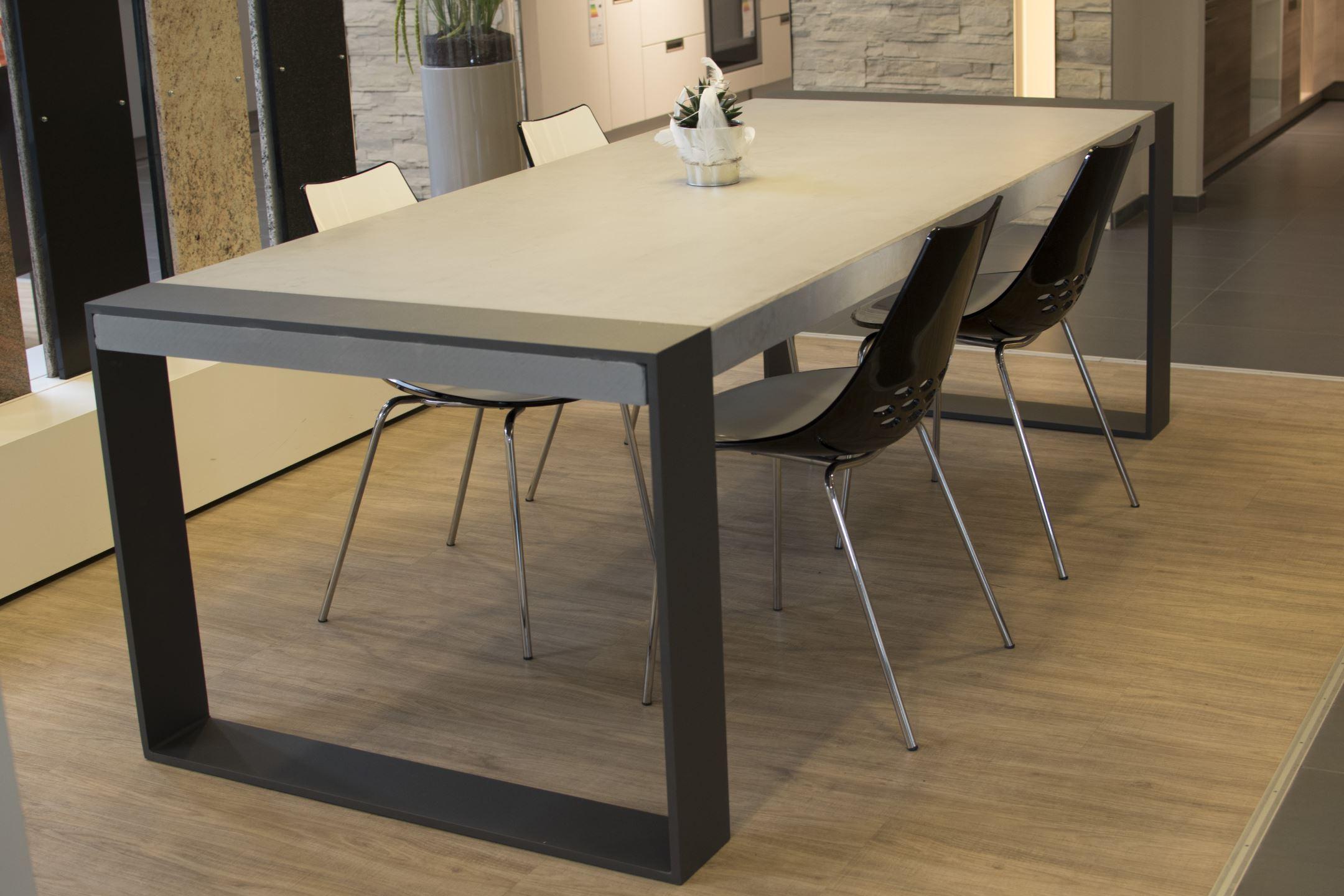 Maintisch Beton Tisch Betontist Masstisch Schreibtisch Esstisch