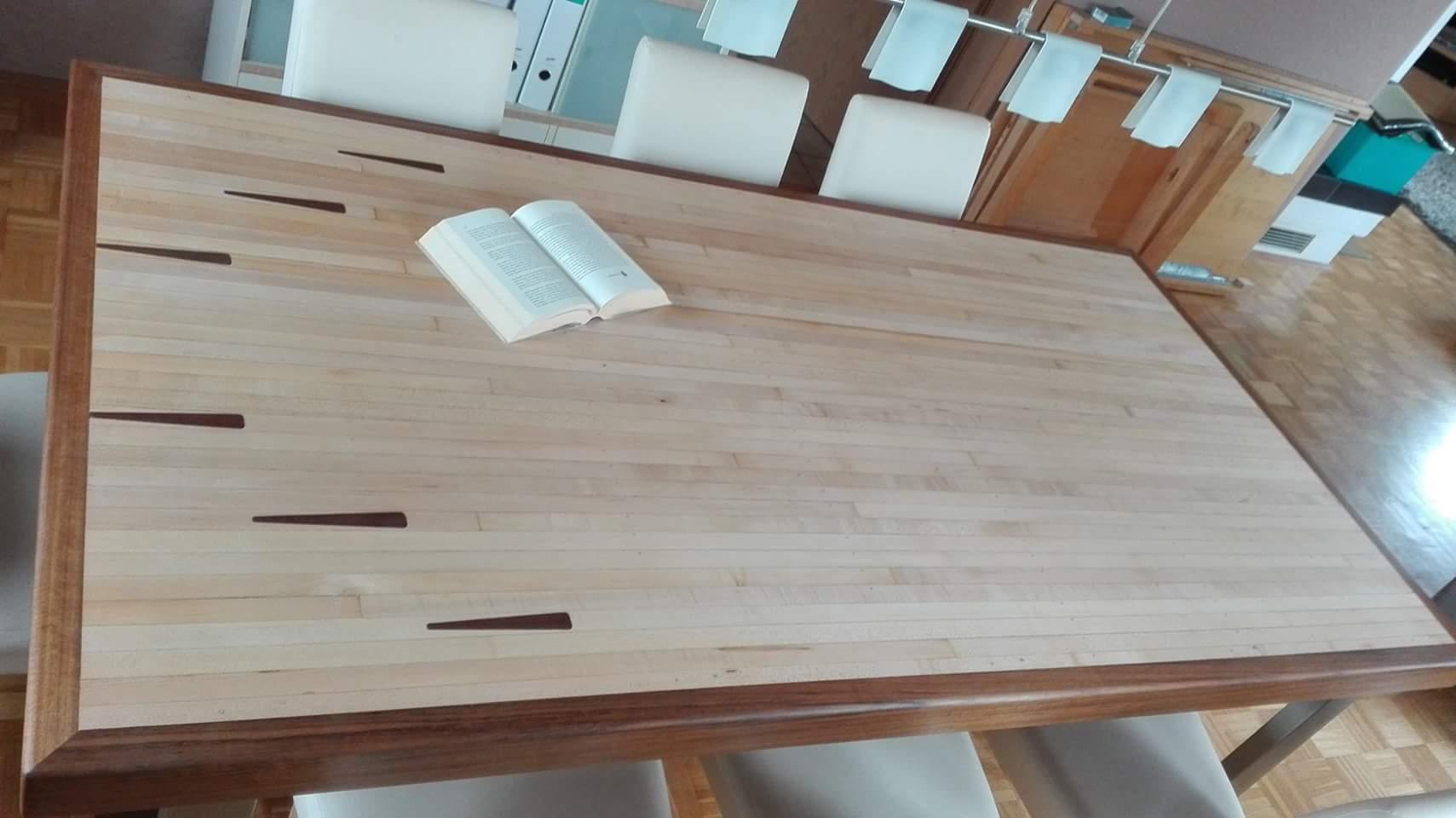 mainTisch Esstisch Schreibtisch Bowlingtisch Schreiner Masstisch 1