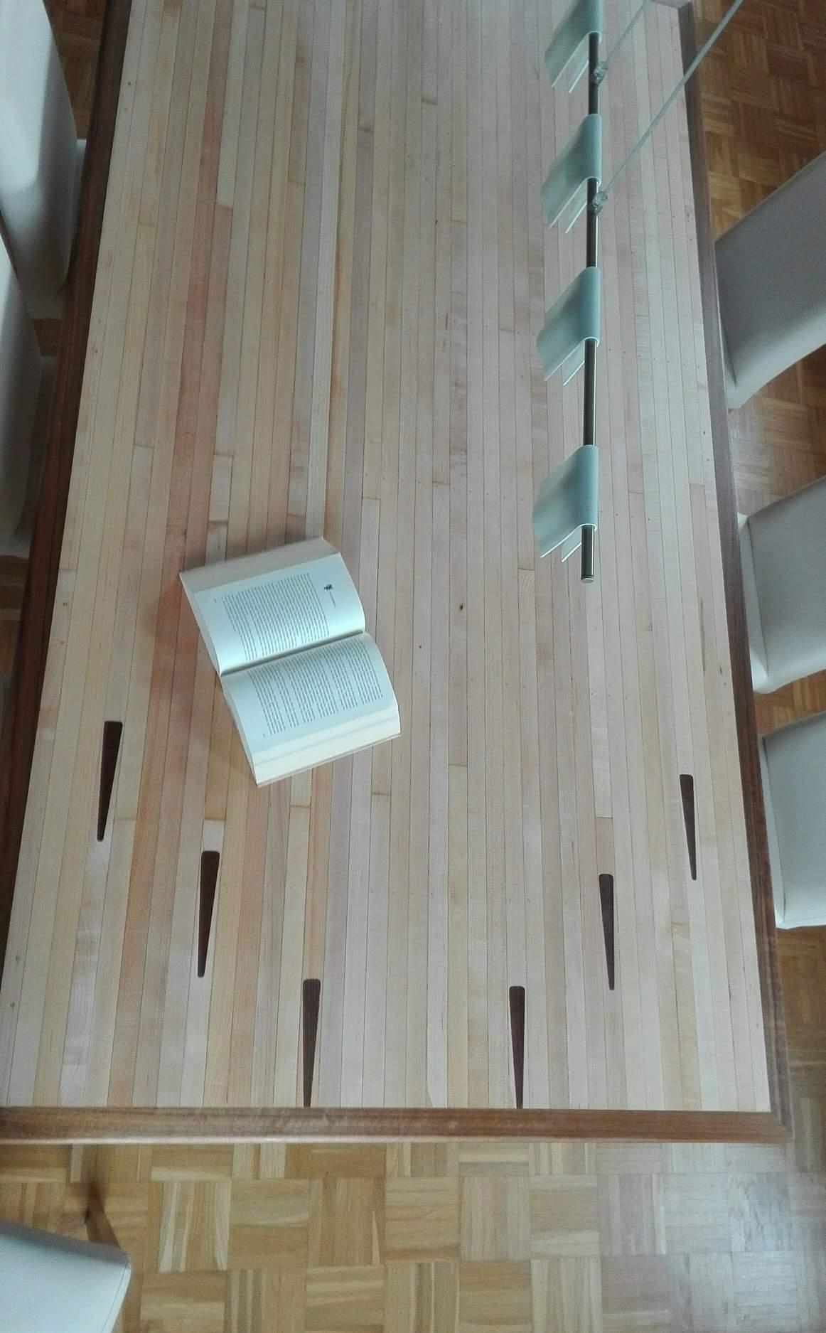 mainTisch Esstisch Schreibtisch Bowlingtisch Schreiner Masstisch 4