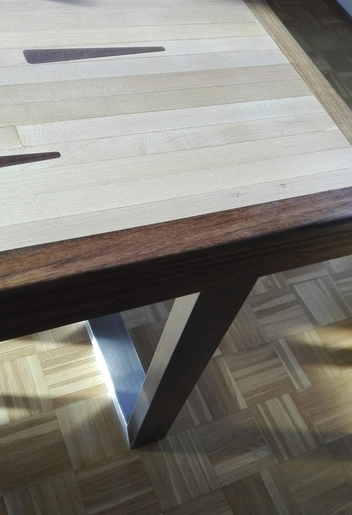 mainTisch Esstisch Schreibtisch Bowlingtisch Schreiner Masstisch 5