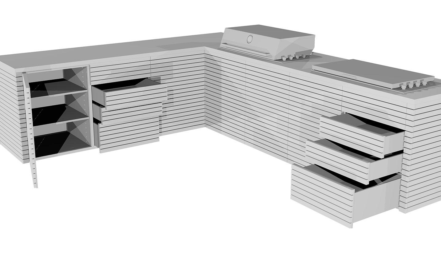 Aussenkueche Grill Beton Holz Outdoor Living Betonboden Gussboden fugenlos Treppe grau Küche Bad Badezimmer Wohnzimmer Tisch Möbel mainTisch mainBeton mainGrill 9