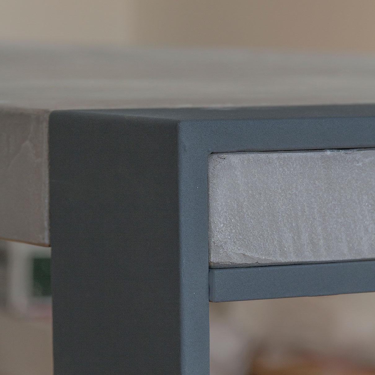 Masstisch Beton Spachtelbeton Esstisch Schreibtisch Betonboden Gussboden fugenlos Treppe grau Küche Bad Badezimmer Wohnzimmer Möbel mainTisch mainBeton mainGrill 35