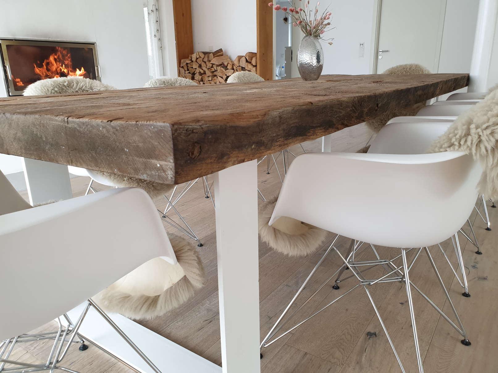 mainTisch Altholz Altholzplatte Altholztischplatte Eiche Tisch Tischplatte_4
