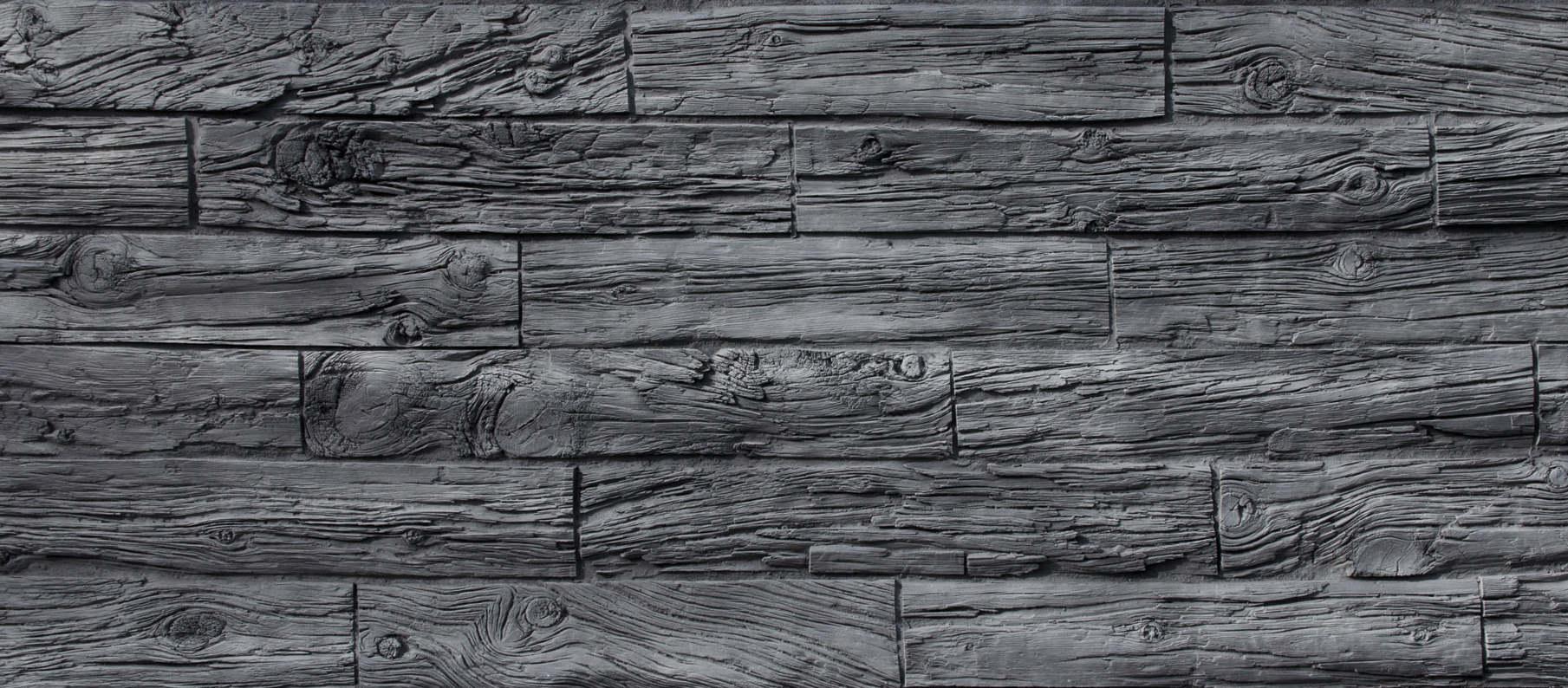 mainTisch Wandverkleidung Bahnschwellen Altholz 6